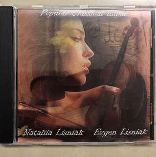CD - violin and accordion music