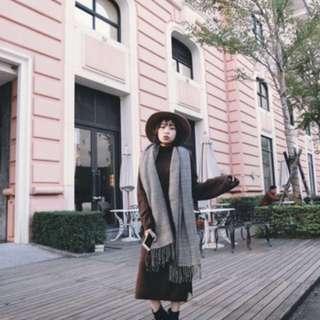 🚚 An alley小立領針織洋裝