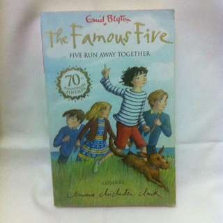 Enid Blyton The Famous Five - Five Run Away Together - 70th Anniversary Edition