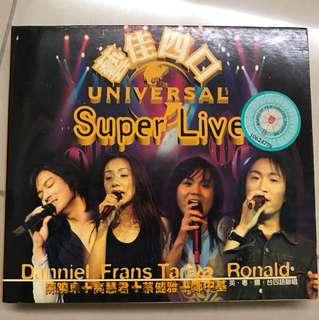 CD + VCD - Super live