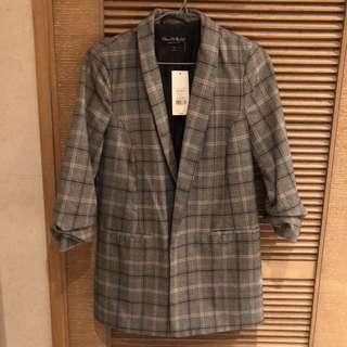 Miss Selfridge checked blazer US4/UK8