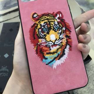Casing MCM Tiger Pink Iphone 7+