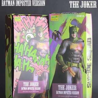 Crazy Toys Hot Toys Exclusive Suicide Squad Movie The Joker (Imposter Batman Disguise Version) 1/6 1:6 KO Figure