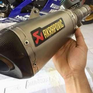 Akrapovic for R6