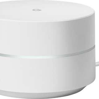 Google wifi-single piece