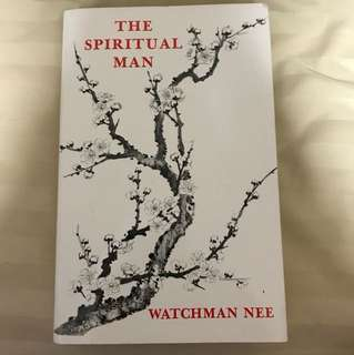 Choose 5 items for $15: The Spiritual Man by Watchman Nee