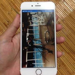 IPHONE 6s rosegold 64gb