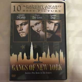 Choose 5 items for $15: Gangs of New York