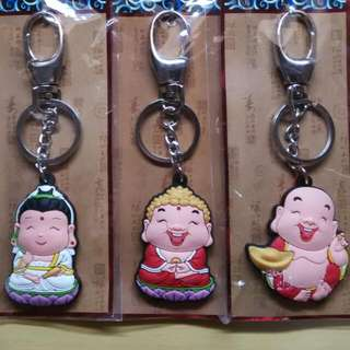 Key Chains - Buddha and Goddess of Mercy