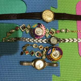 Pre valentine Reprice!!!! Watches swiss japan movement of all kinds