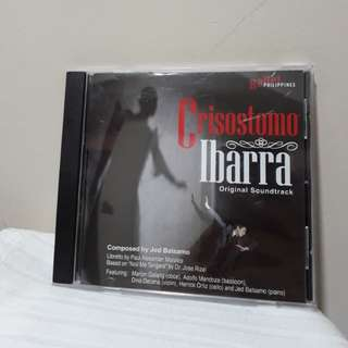 Ballet Philippines ' Crisostomo Ibarra Original soundtrack