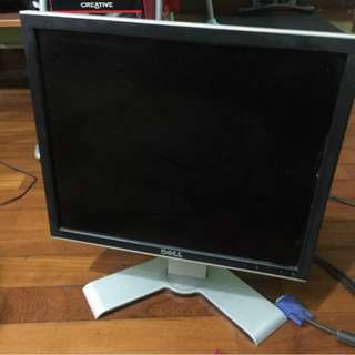 """Dell 17"""" Flat Screen Monitor 1707FPT"""