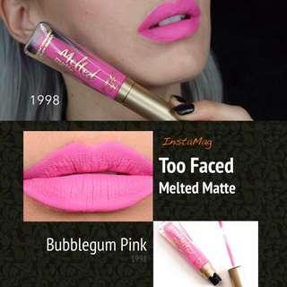 Too Faced Melted Matte Liquified Matte Lipstick (1998)
