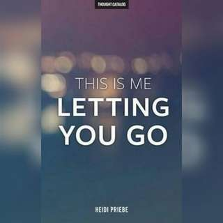 This is Me Letting You Go - Heide Pribe