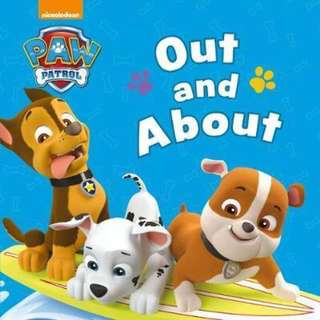 Paw Patrol out and about board book
