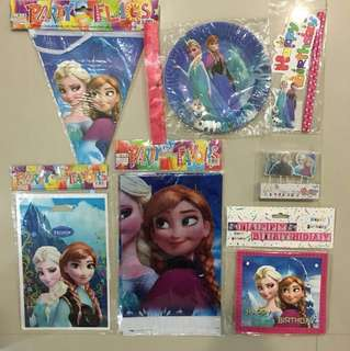 Frozen party supply