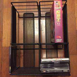 DVD CD discs rack