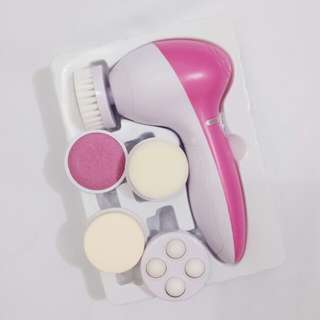 5 in 1 Beauty Care Facial Brush Cleaner and Massager