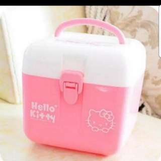 In Stock Hello Kitty First Aid Box Container Stationery Box