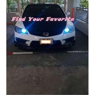 Honda Civic FD models on T10 wedge super bright CREE project lens  for pole lights - CASH&CARRY