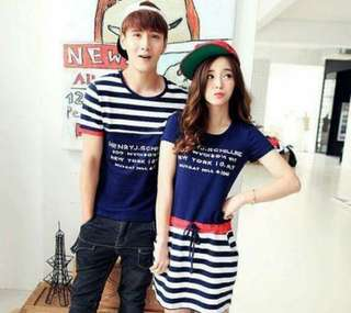Stripe Combined Couple Set