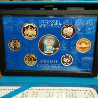 COLLECTORS ITEM: Japan Mint 2005 Limuted Edition Doraemon Proof Coin Set - 35th Anniversary