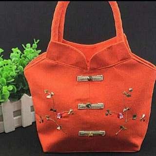lady fashion bag cny