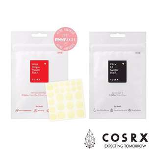 COSRX Acne pimple(24 patches)/clear fit(18 patches) master patch
