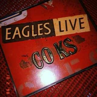 EAGLES LIVE COKS CD