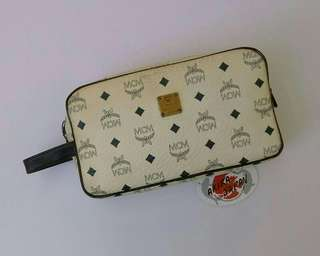 MCM Toiletries Clutch Bag