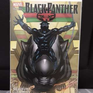 Black Panther #1 Newbury variant