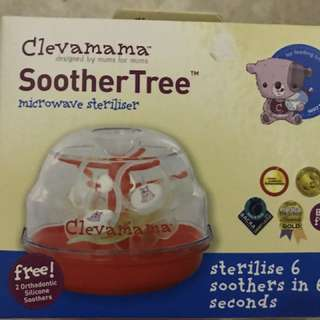 Brand new clevamama soother pacifier microwave sterilizer