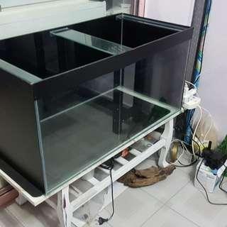 3ft fish tank crystal glass