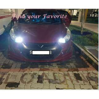 Hyundai Elantra on T10 super bright CREE project lens for pole light/small position light - CASH&CARRY ONLY.