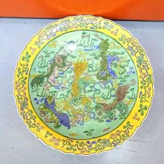 大清康熙瓷盤18寸 Porcelain Plate