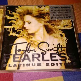 Taylor Swift's Fearless Platinum Edition