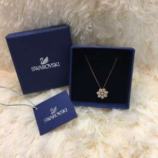 Swarovski 全新水晶花型頸鏈 5055514
