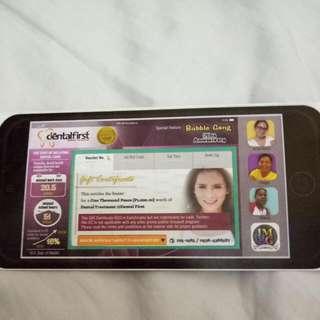 DentalFirst Gift Card Worth 1000
