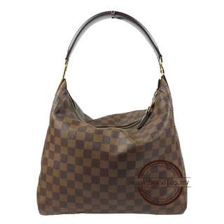 Authentic Louis Vuitton Damier Ebene Portobello PM N41184 LV