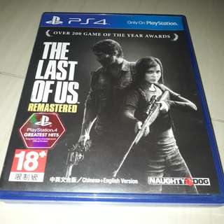 Bd ps4 The Last Of Us