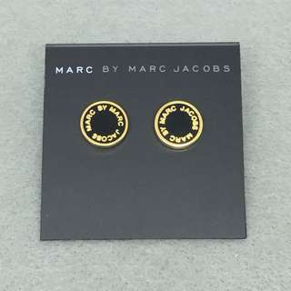 Marc Jacobs Sample Earrings 黑金色耳環