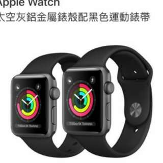 42m m apple watch series 3 全新