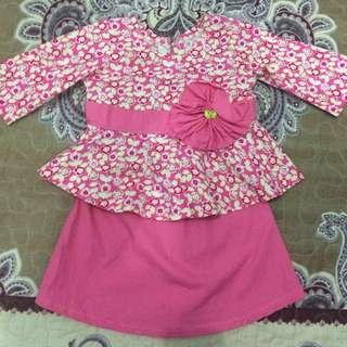 Baju Kurung Peplum (6 month)
