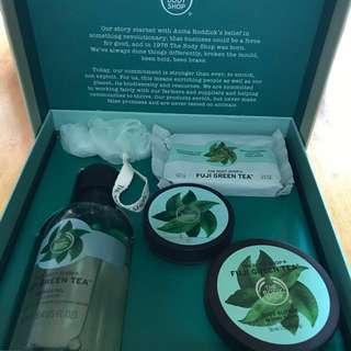 The Body Shop Fuji Green Tea Essential Selection