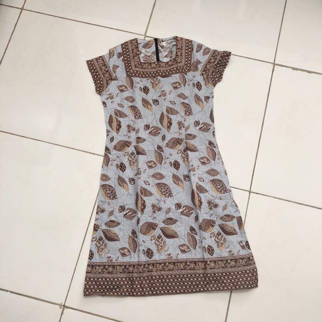 3 dress batik! scroll kanan