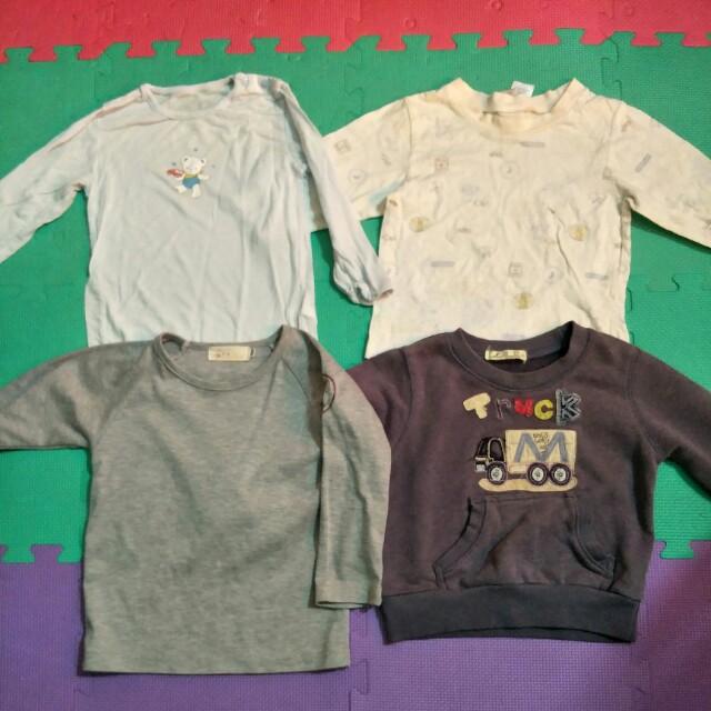 4件男童裝