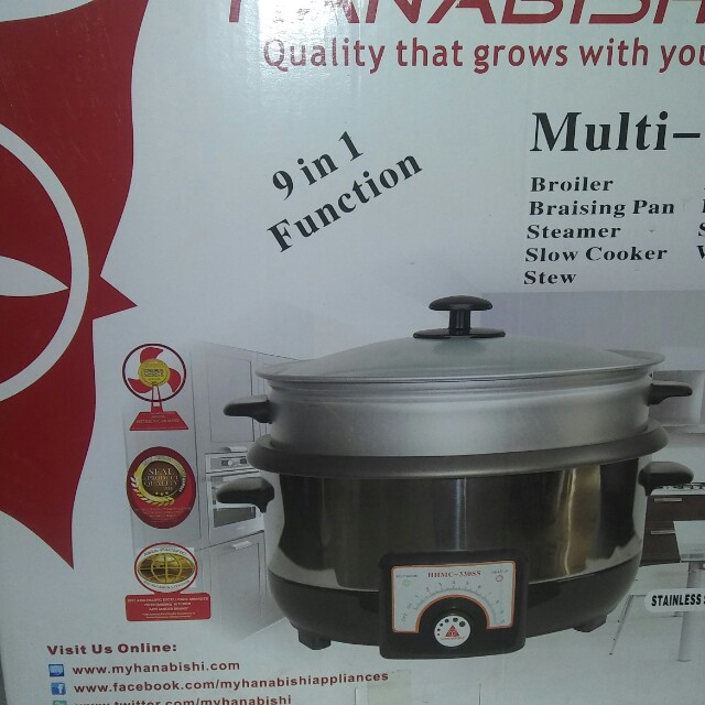 9 in 1 multy cooker