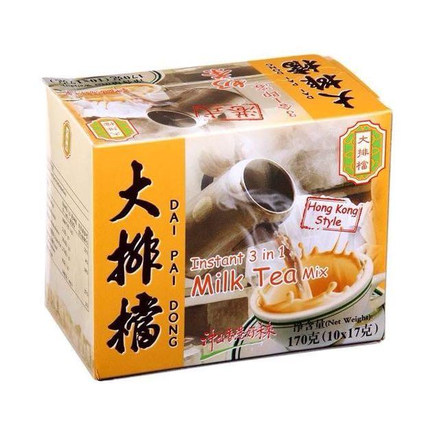 大排檔奶茶
