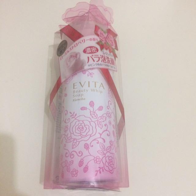 玫瑰花洗面乳