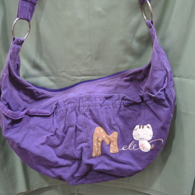 貓咪斜背包